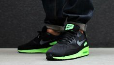 Nike Air Max 90 EM Comfort Black/Flash Lime