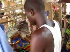 Kente Cloth Weaving