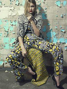 Vogue Brasil March 2014   Gigi Hadid   Henrique Gendre
