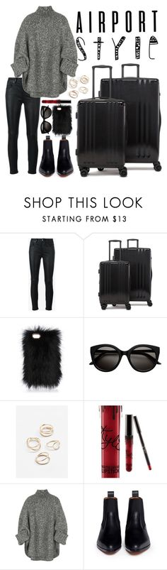 """Comfy but Stylish!"" by lovesickwildbeast ❤ liked on Polyvore featuring Yves Saint Laurent, CalPak, MANGO, Kylie Cosmetics, Michael Kors and Chloé"
