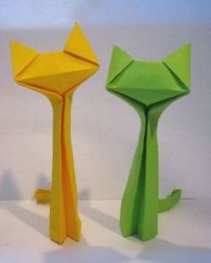 26 Origami Cat By Richard Wang Yakomoga Of The Dollar Money