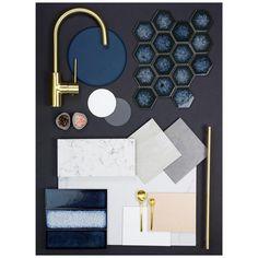 67 new ideas for bath room inspiration tiles color schemes Navy Bathroom, Bathroom Colors, Bathroom Ideas, Modern Bathroom, Kitchen Colour Schemes, Kitchen Colors, Interior Colour Schemes, Navy Kitchen, Kitchen Modern