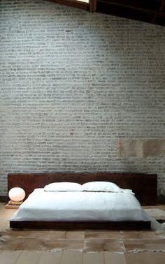 ! #quarto #tijolos