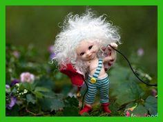 Bjd 1/12 Doll with makeup Fairy Doll RealPuki Soso Bjd Doll Eyes & Eyelash Inlcuded
