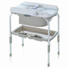 Banheira e Trocador Flip Jan' Tangram, Baby Accessories, Bassinet, Chair, Luxury, Bed, Room, Furniture, Home Decor
