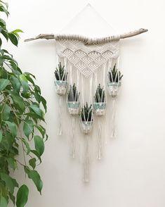 Vintage Macrame Plant Hanger Ideas 50
