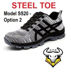safety shoes, steel toe