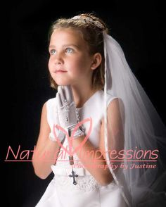 First Communion photos by Natural Impressions Photography