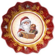 Toy's Fantasy Schale groß Santa erzählt Märchen - Villeroy & Boch