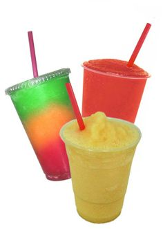 FROZEN DRINKS FOR KIDS- Strawberry-Banana Slushy****Tropical Cooler*****Orange Dreamsicle