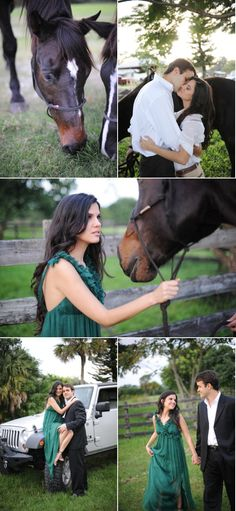 Ah! I may be thinking ahead of myself here, but this is a fantastic engagement photo idea!