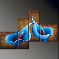 Modern art Oil Painting On Canvas abstract wall deco handmade landscape huge…