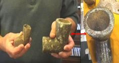Large 'Nephilim' Pipe artifact may be evidence that giants once walked the earth  UFO Sightings Hotspot