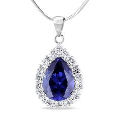 Pria Silver Pendant for Women Daisy Dark Blue ** Find out more about the great product at the image link. (This is an affiliate link) Daisy, Pendants, Pendant Necklace, Detail, Dark Blue, Silver, Coins, Image Link, Jewelry