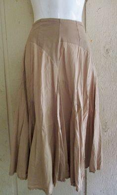 Luna Luz boho cotton skirt L #LunaLuz #bohofunkyhippyartsy