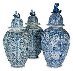 Delft ware . 18th. Century. eloge del'art