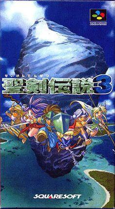 Seiken Densetsu 3 on the SNES.