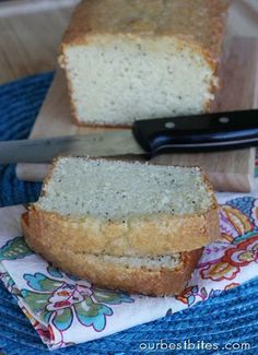 Almond Poppy Seed Bread - Our Best Bites
