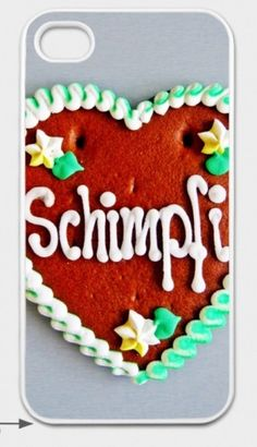 "iPhone-Hülle ""Schimpfi"" für iPhone 4/4S von Art-MG auf DaWanda.com Kundenauftrag! Iphone 4, Sugar, Cookies, Etsy, Desserts, Food, Iphone Case Covers, Sticker, Crack Crackers"