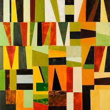 Image result for abstract geometric collage art