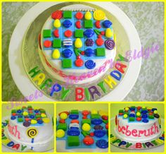 Candy Crush Cake  facebook page: Sweets 'N Heaven by Eldgie