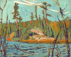MacDonald Nationality: Canadian Artist Dates: 1873 - 1932 Gender: male Title: Moose Lake, Algoma Object Dates: 1920 Group Of Seven Art, Group Of Seven Paintings, Canadian Painters, Canadian Artists, Abstract Landscape, Landscape Paintings, Landscapes, Tom Thomson Paintings, Oil Painting Pictures