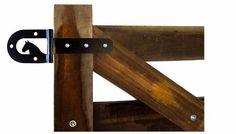 porteira de madeira - modelo 004 - 1,50m x 3,00m