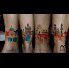 #tattoofriday, Lesha Lauz, Rússia.