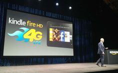 Amazon CEO Jeff Bezos surprised the tech world when he unveiled a Kindle Fire tablet with a 4G LTE wireless connection.