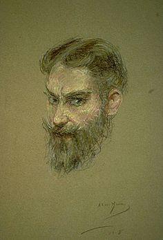 George Bernard Shaw. 1908. Alice Pike Barney. | The Athenaeum
