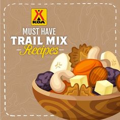 Making your own trail mix is a breeze with these fun recipes.  You can use each of these recipes as a base and add other items to create your own custom mix.  Enjoy!  #KOATastyTuesday