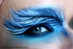 Feather Eye Makeup Tutorial – Glam Express