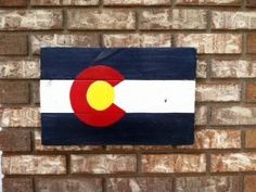 images of hand stenciled signs of colorado flag - Google Search