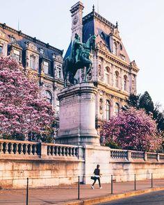 Splendide Paris au printemps! Photo par Olivier Wong