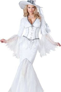 InCharacter Costumes Women's White Magic