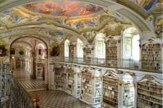 I forget where this library is, but it's one of the most beautiful libraries in the world. Must visit!