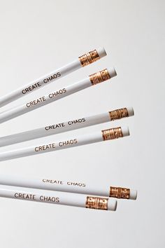 Create Chaos pencils by Belles and Ghosts, Saint Clair, MO
