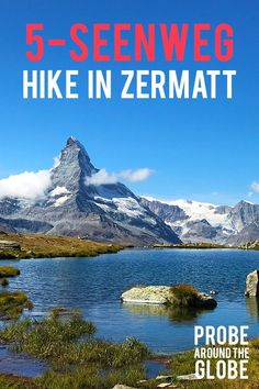 Classic Hike in Zermatt Switzerland. How to arrange it yourself and what to expect? Find the answers here.Scenic Classic Hike in Zermatt Switzerland. How to arrange it yourself and what to expect? Find the answers here. Europe Travel Guide, Backpacking Europe, Travel Guides, Travel Destinations, Traveling Europe, Travel Advice, Zermatt, European Destination, European Travel