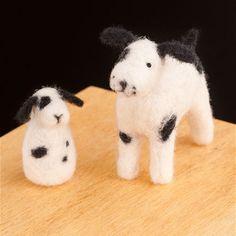 Puppies wool felt kit