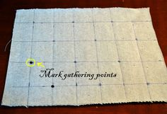 Sew-Over-It: Tutorial - Fabric Manipulation #1