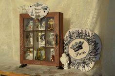 Декупаж - Сайт любителей декупажа - DCPG.RU | Парижская цирюльня Click on photo to see more! Нажмите на фото чтобы увидеть больше! decoupage art craft handmade home decor DIY do it yourself varnish