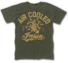 Air cooled Injun t shirt.