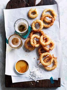 Onion rings....buttermilk & beer!