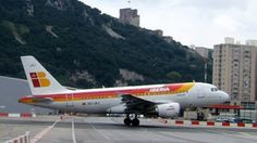 Iberia 319...Gibraltar. Gliders, Airplanes, Aircraft, Commercial, Military, Moon, Community, Classic, Photography