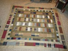 This quilt reminds me of a bookcase.