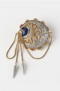"design-is-fine: "" Lucien Falize, brooch, Gold, Aluminium, Lapislazuli… Fantasy Jewelry, Jewelry Art, Antique Jewelry, Vintage Jewelry, Jewelry Accessories, Jewelry Design, Magical Jewelry, Character Outfits, Jewelery"