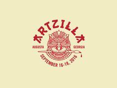 Artzilla  by Brian Steely #Design Popular #Dribbble #shots