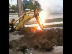 Excavation Safety - Underground Electric Cable Damage