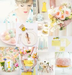 Pastel Wedding Colors (via @Elizabeth Anne Designs)