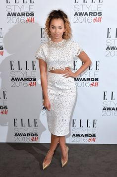 Pin for Later: Stars Pulled Out All the Stops For the Elle Style Awards Ella Eyre